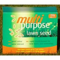 Johnsons Lawn Seed Multi Purpose - 250g Carton Patch-Pack
